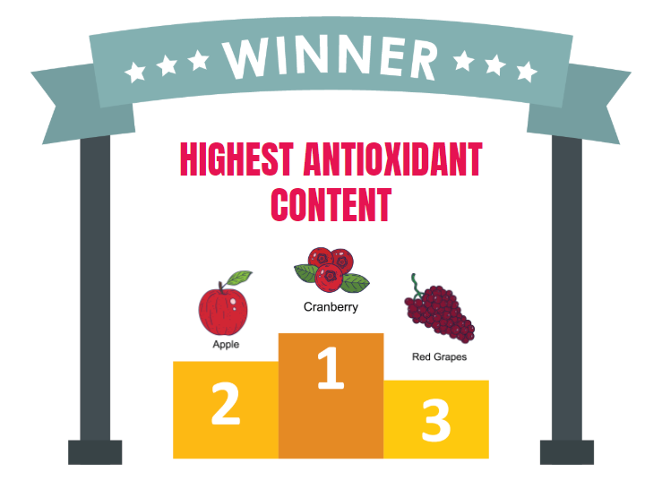 which fruits has highest antioxidant activity