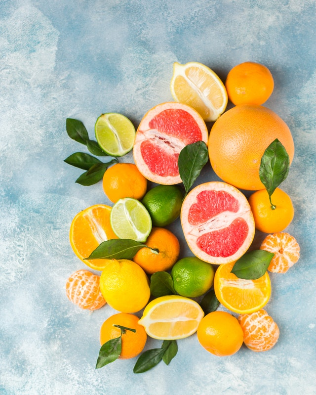 citrus fruits vitamin C anticancer